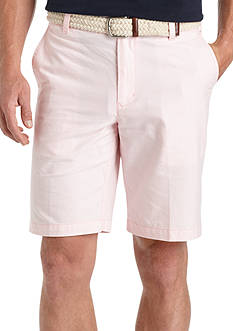 IZOD Flat Front Oxford Shorts