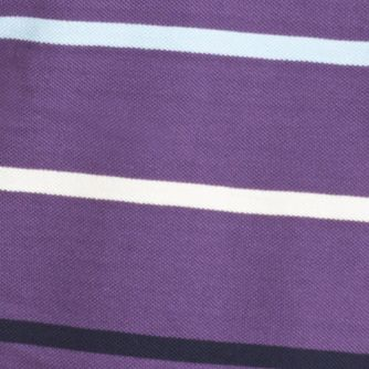 Shirts For Guys: Short Sleeve: Loganberry IZOD Short Sleeve Striped Pique Polo Shirt