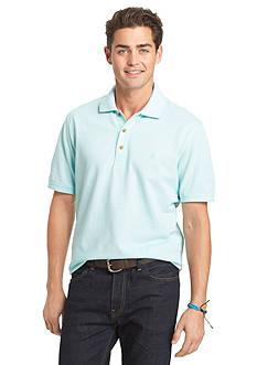 IZOD Short Sleeve Oxford Pique Polo Shirt