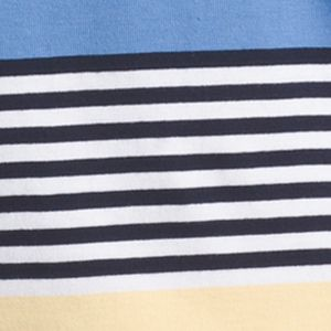 Shirts For Guys: Blue Revival IZOD Short Sleeve Engineered Striped Polo Shirt