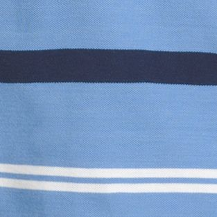 Young Men: Polo Shirts Sale: Blue Revival IZOD Short Sleeve Striped Advantage Polo Shirt