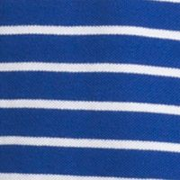 Mens Short Sleeve Polo Shirts: Mazarine Blue IZOD Short Sleeve Advantage Striped Pique Polo