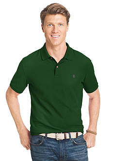 IZOD Short Sleeve Solid Stretch Advantage Pique Polo Shirt