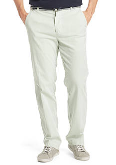 IZOD Belted Seersucker Pants