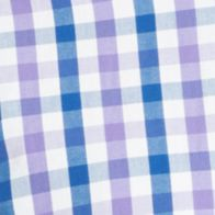 St Patricks Day Outfits For Men: Dahlia Purple IZOD Medium Plaid Button-down Woven