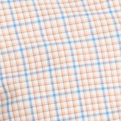 St Patricks Day Outfits For Men: Shell Coral IZOD Short Sleeve Lightweight Plaid Woven Shirt