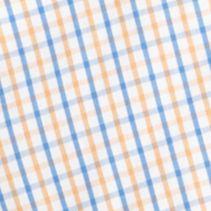 Izod Men Sale: Mock Orange IZOD Long Sleeve Tattersal Woven Button Down Shirt