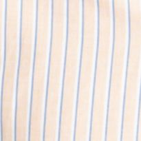 Young Men: Izod Casual Shirts: Mock Orange IZOD Long Sleeve Stripe Woven Button Down Shirt