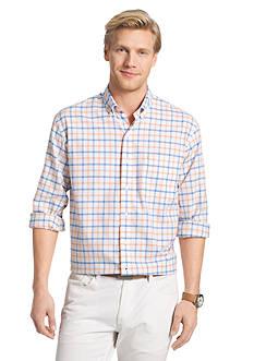 IZOD Long Sleeve Newport Oxford Button Down Shirt