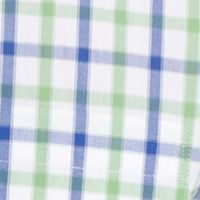 Mens Casual Shirts: Seacrest IZOD Short Sleeve Button Down No Iron Shirt