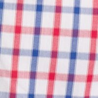Non Iron: Casual Shirts: Real Red IZOD Short Sleeve Button Down No Iron Shirt