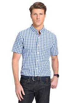 IZOD Short Sleeve Button Down No Iron Shirt