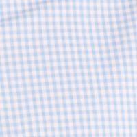 Men: Long Sleeve Sale: Della Robbia Blue IZOD Long Sleeve Gingham Woven Button-Down Shirt