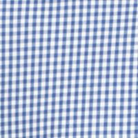 Men: Long Sleeve Sale: Mazarine Blue IZOD Long Sleeve Gingham Woven Button-Down Shirt