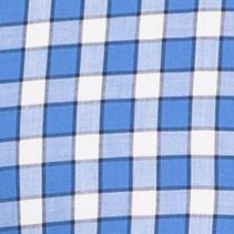 Izod Mens: Blue Revival IZOD Long Sleeve Plaid Poplin Woven