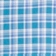 Mens Casual Shirts: Check & Plaid: Blue Jay IZOD Long Sleeve Poplin Button Down Shirt