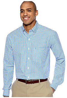 Izod Big & Tall Gingham Woven Shirt