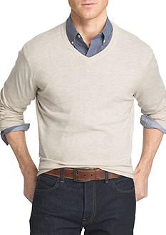 IZOD Big & Tall Fieldhouse Sweater