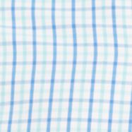 Izod: Aqua Sky IZOD Big & Tall Tattersal Long Sleeve Essential Woven Button Down Shirt