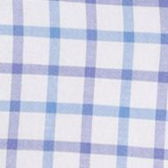 Big and Tall Pattern Shirts: Dusted Peri IZOD Big & Tall Long Sleeve Newport Oxford Woven Shirt