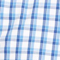 Izod Big & Tall Sale: Bright White IZOD Big & Tall Short Sleeve Plaid Non-Iron Button Down Shirt