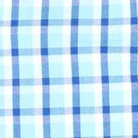 Izod Big & Tall Sale: Blue Radiance IZOD Big & Tall Short Sleeve Plaid Non-Iron Button Down Shirt