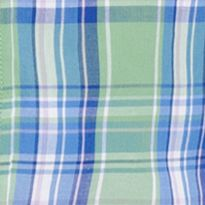 Izod: Seacrest IZOD Big & Tall Short Sleeve Plaid Poplin Shirt