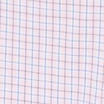 Mens Big and Tall Casual Shirts: Check & Plaid: Cradle Pink IZOD Big & Tall Long Sleeve Hampton Poplin Plaid Shirt