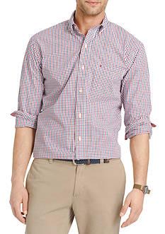 IZOD Big & Tall Long Sleeve Essential Button Down Shirt