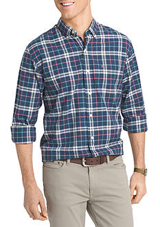IZOD Big & Tall Long Sleeve Newport Oxford Button Down Shirt