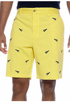 Izod Big & Tall Flat Front Saltwater Lobster Short