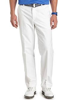 IZOD Big & Tall Flat Front Chambray Pants