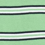 Izod: Absinthe Green IZOD Big & Tall Short Sleeve Stripe Advantage Polo Shirt
