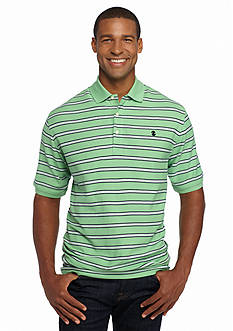 IZOD Big & Tall Short Sleeve Stripe Advantage Polo Shirt