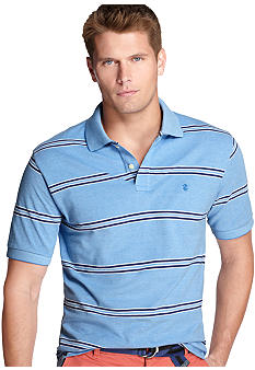 Izod Big & Tall Oxford Stripe Polo