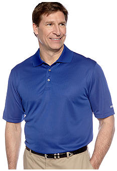 Izod Big & Tall Textured Grid Polo