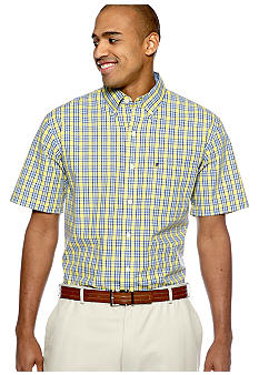 Izod Big & Tall Saltwater Poplin Shirt