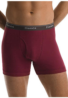 Hanes Assorted Boxer Briefs 4 Pack