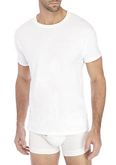 Hanes 5-Pack Platinum Tagless® Crew Neck Tee Shirts