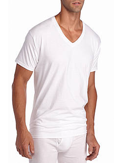 Hanes Platinum X-Temp V-Neck T-Shirt 4-Pack
