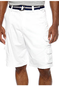 Lee Wyoming White Cargo Shorts
