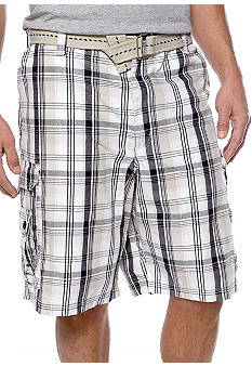 Lee Big & Tall Spartan Plaid Shorts