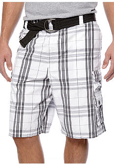 Lee Big & Tall Maverick Plaid Shorts