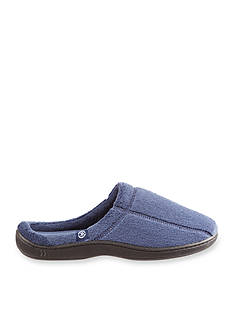 Isotoner Signature Classics Microterry Memory Foam Plus Clog Slipper