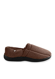 Isotoner Signature Classics Microterry Memory Foam Plus Slip On Slippers