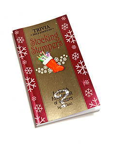 Red-Letter Press, Inc. Stocking Stumpers Trivia 2013 Edition