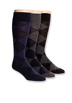 Polo Ralph Lauren Argyle Dress Socks - 3 Pack