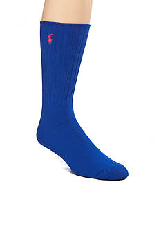 Polo Ralph Lauren Classic Cotton Crew Socks - Single Pair