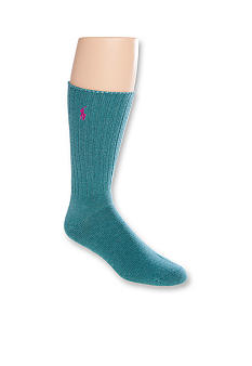 Polo Ralph Lauren Classic Cotton Crew Socks - Single Pair