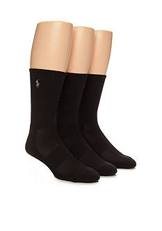 Polo Ralph Lauren Athletic Multi Tech Crew Socks - 3 Pack